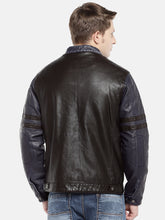 Load image into Gallery viewer, Black Solid Bomber-3