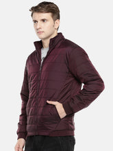 Load image into Gallery viewer, Red Solid Puffer Jacket-2