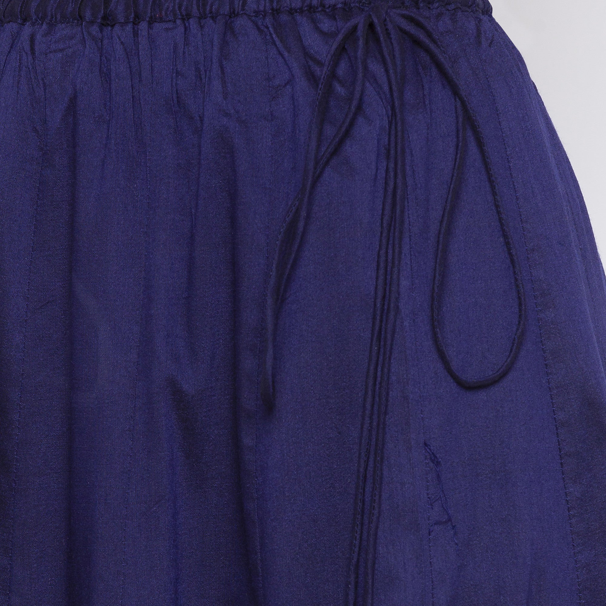Indigo Solid Skirts-5