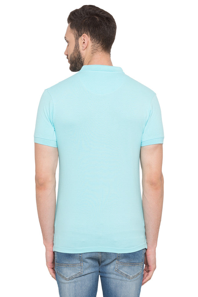Short Sleeved Polo Neck T-shirt-3