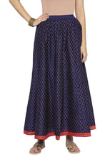 Load image into Gallery viewer, Ethnic Print Flared Skirt-1