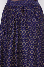 Load image into Gallery viewer, Ethnic Print Flared Skirt-5