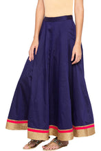 Load image into Gallery viewer, Border Ethnic Flared Skirt-4