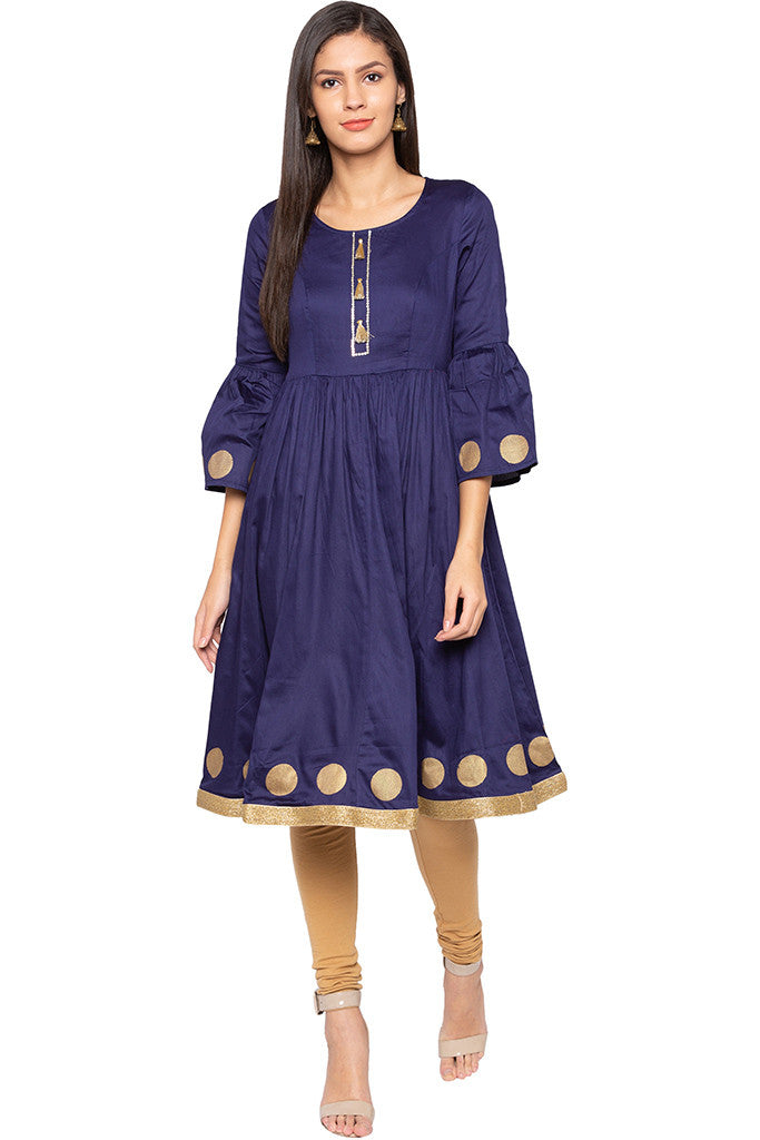 Bell Sleeved Kurta-2