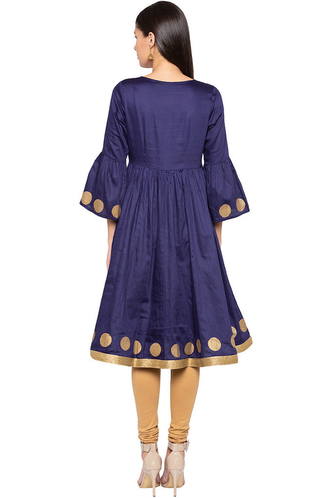 Bell Sleeved Kurta-3
