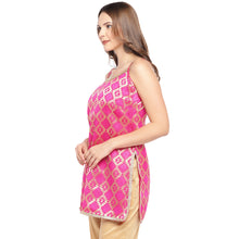 Load image into Gallery viewer, Women Pink Printed A-Line Kurta-2