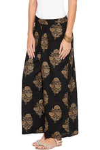 Load image into Gallery viewer, Ethnic Floral Print Palazzos-4