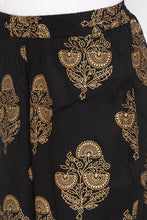 Load image into Gallery viewer, Ethnic Floral Print Palazzos-5