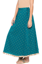 Load image into Gallery viewer, Ethnic Print Flared Skirt-4
