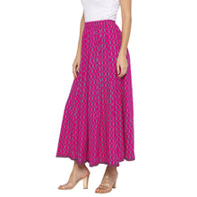 Load image into Gallery viewer, Pink Printed Skirts-2