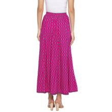 Load image into Gallery viewer, Pink Printed Skirts-3