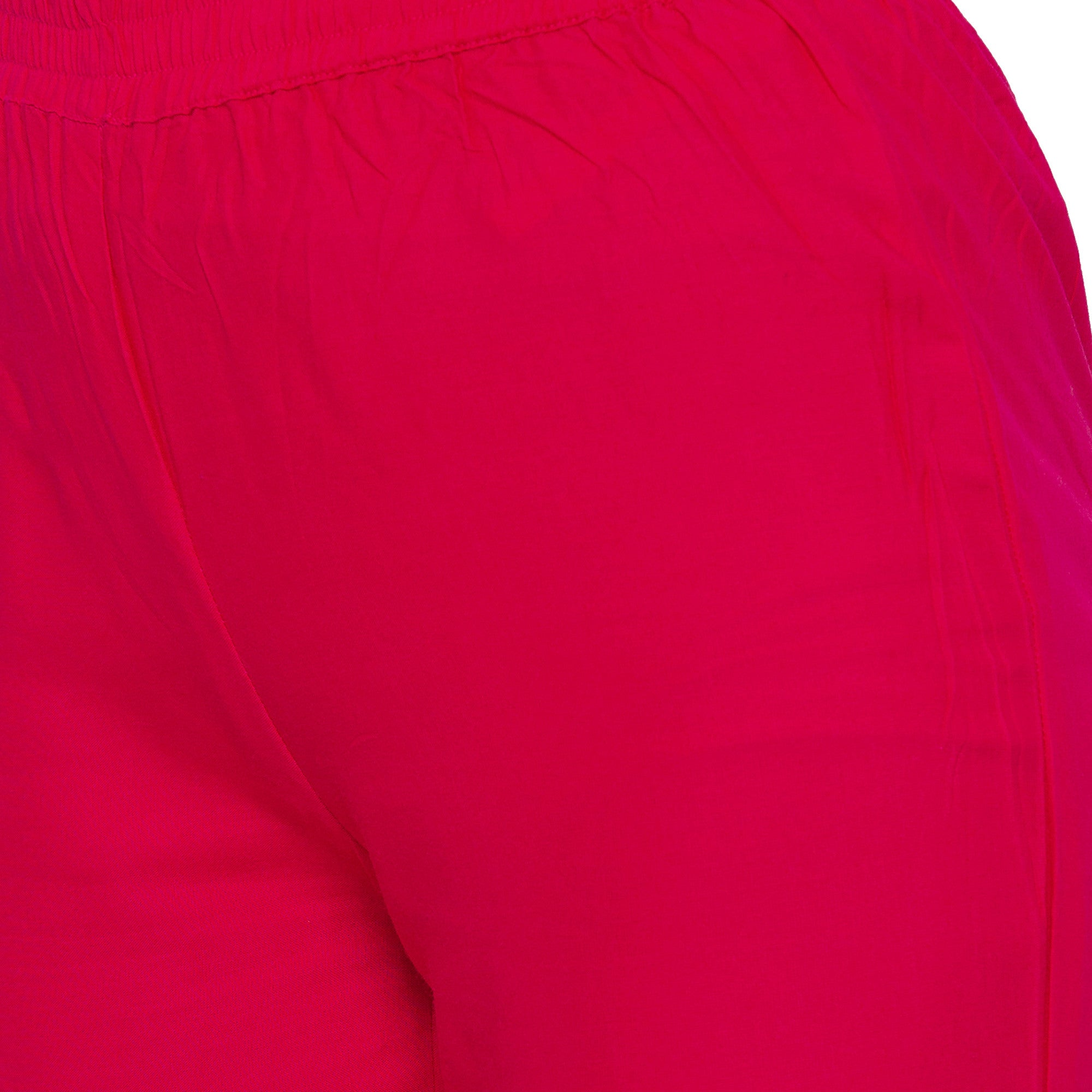 Casual Pink Color Regular Fit Regular Regular Trousers-5
