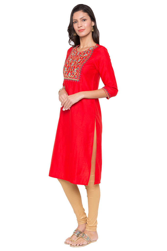 Embroidered Kurta-1
