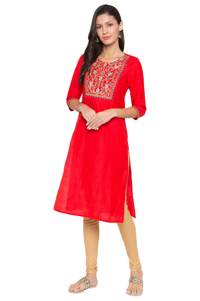Embroidered Kurta-2