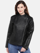 Load image into Gallery viewer, Black Solid Jacket-1
