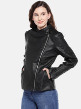 Load image into Gallery viewer, Black Solid Jacket-2