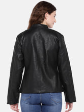 Load image into Gallery viewer, Black Solid Jacket-3