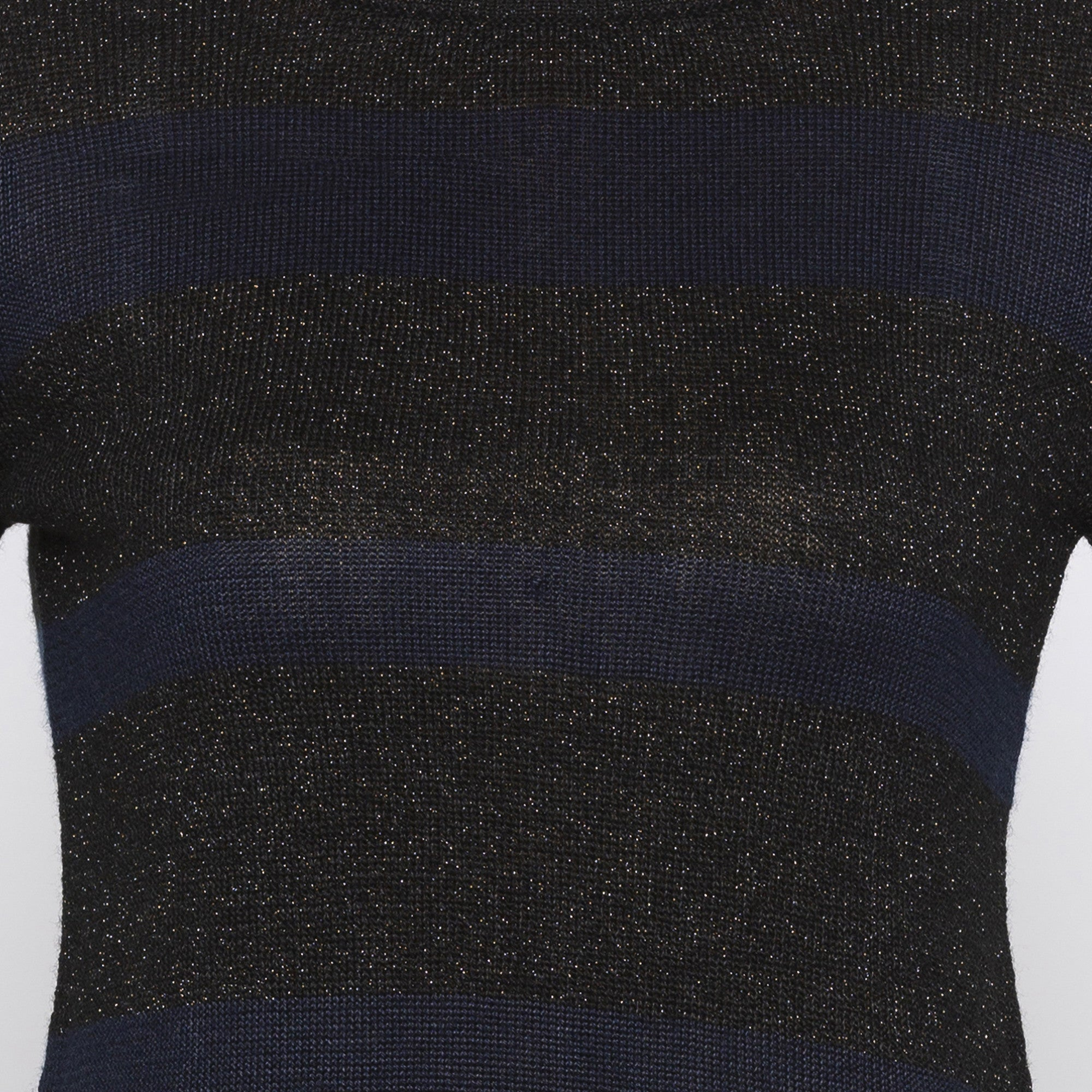 Casual Navy Blue Color Solid Slim Fit Tops-5