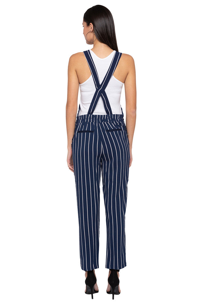 Striped Dungaree-3