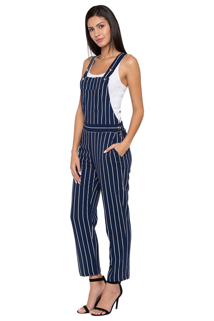 Striped Dungaree-4