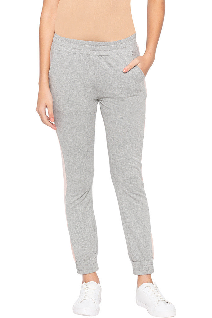 Side Band Knit Joggers-1