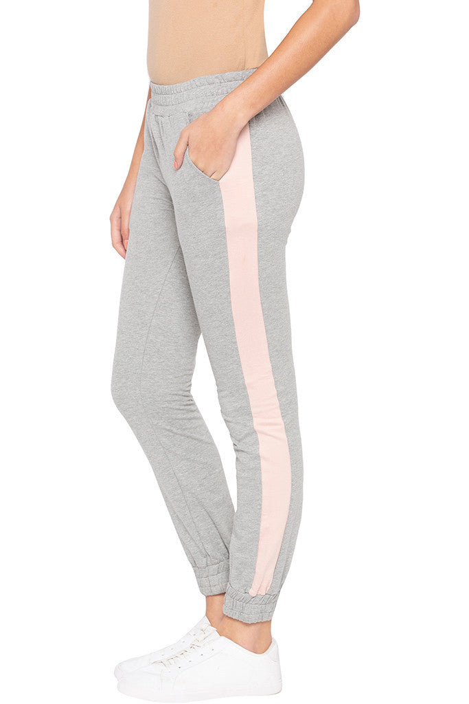 Side Band Knit Joggers-4