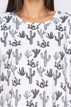 Load image into Gallery viewer, Cactus Print Top-5