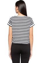 Load image into Gallery viewer, Striped Boxy T-shirt-3