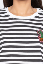 Load image into Gallery viewer, Striped Boxy T-shirt-5