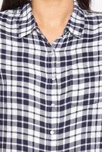 Load image into Gallery viewer, Raw Edge Checked Shirt-5