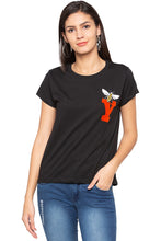 Load image into Gallery viewer, Butterfly Motif T-shirt-1