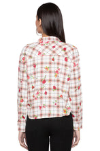 Load image into Gallery viewer, Checked Floral Print Shirt-3