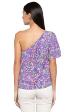 Load image into Gallery viewer, Single Shoulder Floral Blouson Top-3