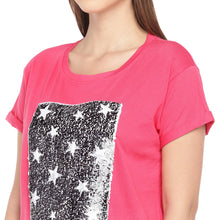 Load image into Gallery viewer, Pink Mermaid-Sequinned Top-5