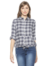 Load image into Gallery viewer, Blue Checked Shirt-1