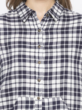 Load image into Gallery viewer, Blue Checked Shirt-5