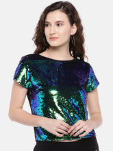 Load image into Gallery viewer, Women Multicoloured Embellished Top-1