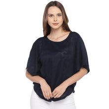 Load image into Gallery viewer, Navy Blue Solid Top-1