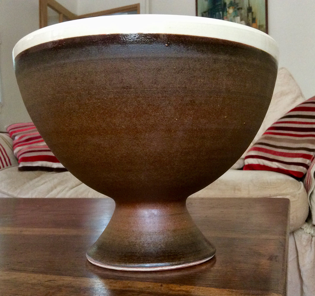 French salt glazed bowl