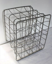 Load image into Gallery viewer, English galvanised milk crate