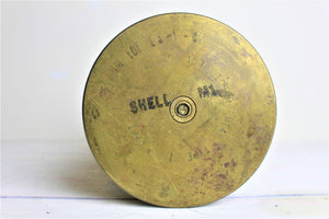 American brass shell case