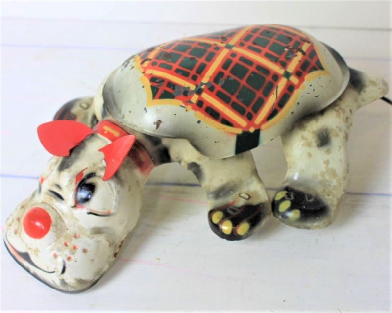 English tinplate toy Mobo Scottie Dog