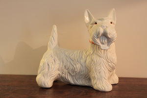 French vintage 'Westie' figurine
