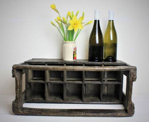 French oak wine crate