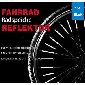 Wunderhause™Bicycle Wheel Spoke Reflector (12PCS)