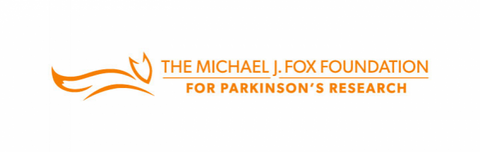 Michael j fox foundation for Parkinson's research logo