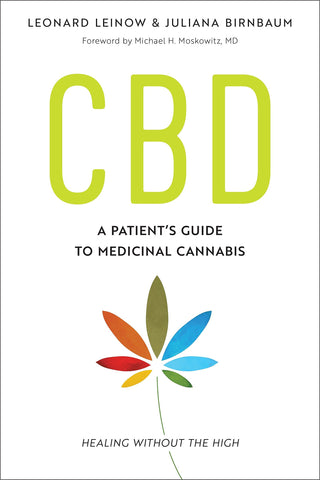 Book cover CBD A patients guide to medical cannabis