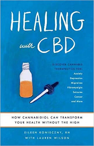 Book cover Healing with CBD