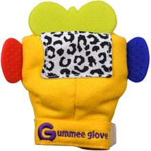 Load image into Gallery viewer, silicone butterfly shaped teether can fit in all our gummee gloves