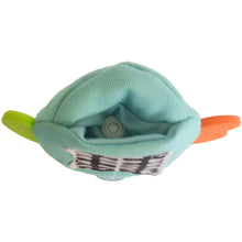 Load image into Gallery viewer, Gummee mouthing gloves for additional / special needs for any child that bites their hands pouch in the top of the glove for the heart teether to be installed